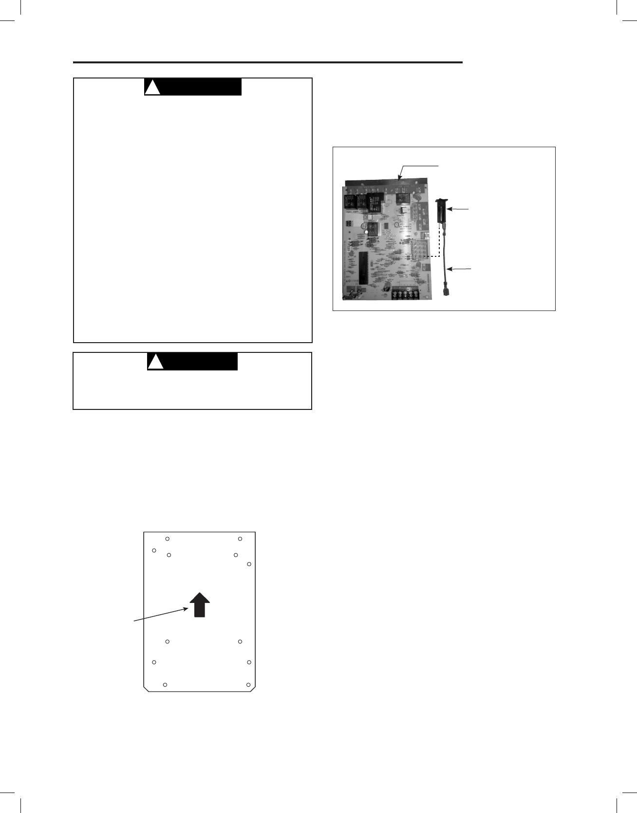 White Rodgers 21D83M-843 INSTALLATION, CAUTION !, PROCEDURE 1
