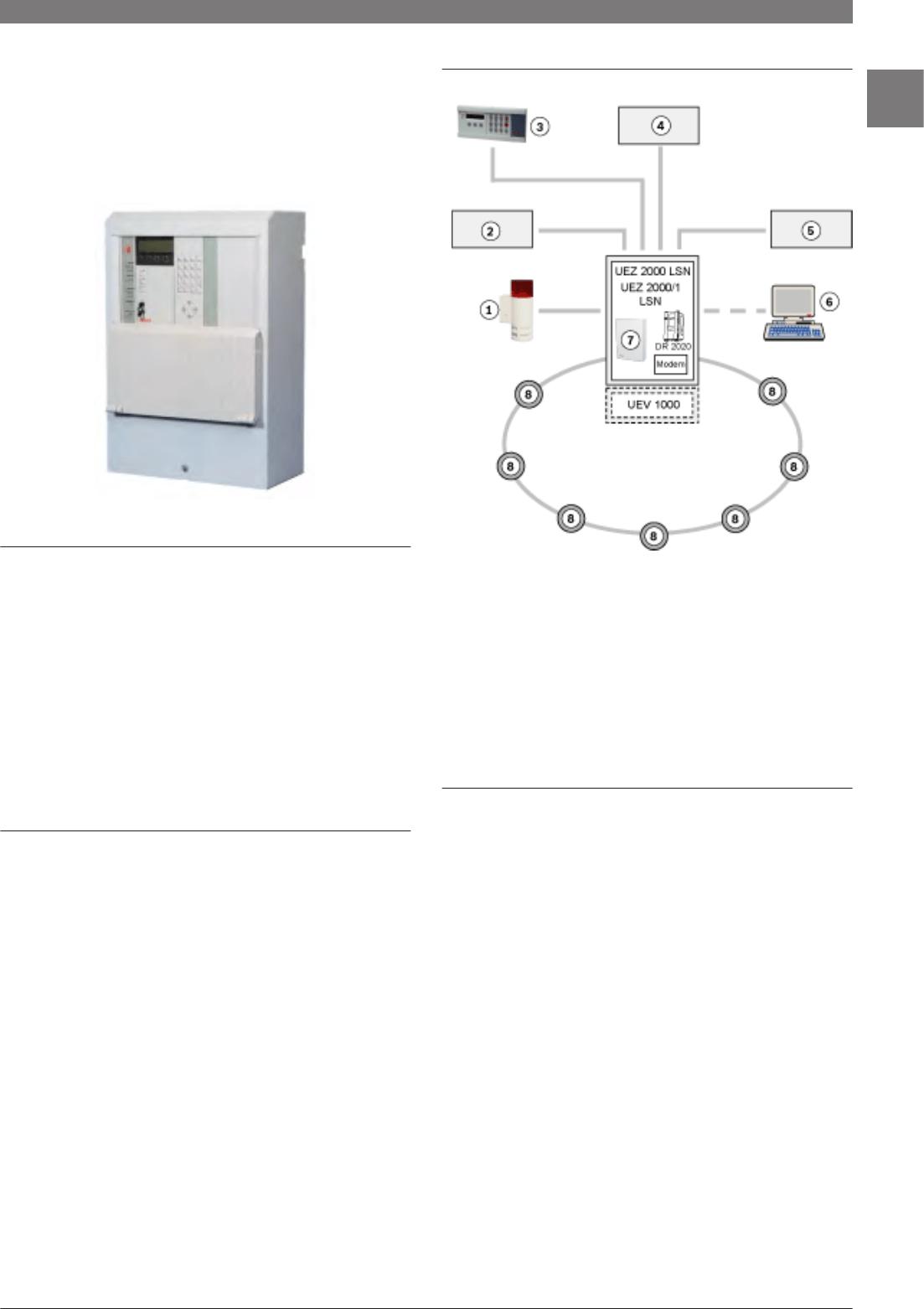 Bosch Appliances 8-Dec UEZ 2000/1 LSN, UEZ 2000 LSN