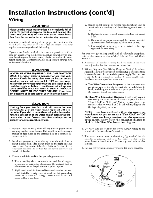 small resolution of kenmore owner manual wiring