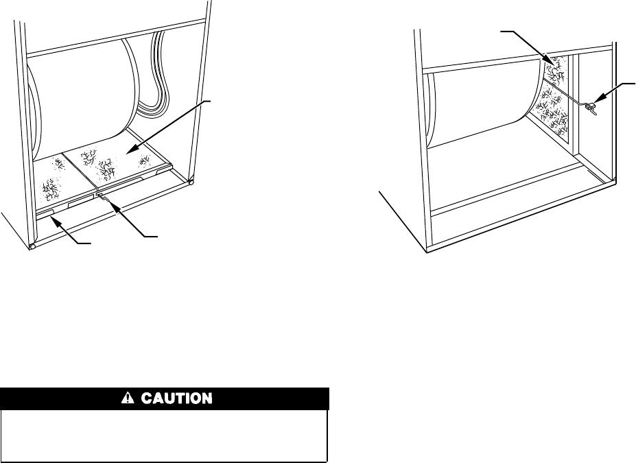 Carrier 58MCA Fig. 3Bottom Filter Arrangement , Fig