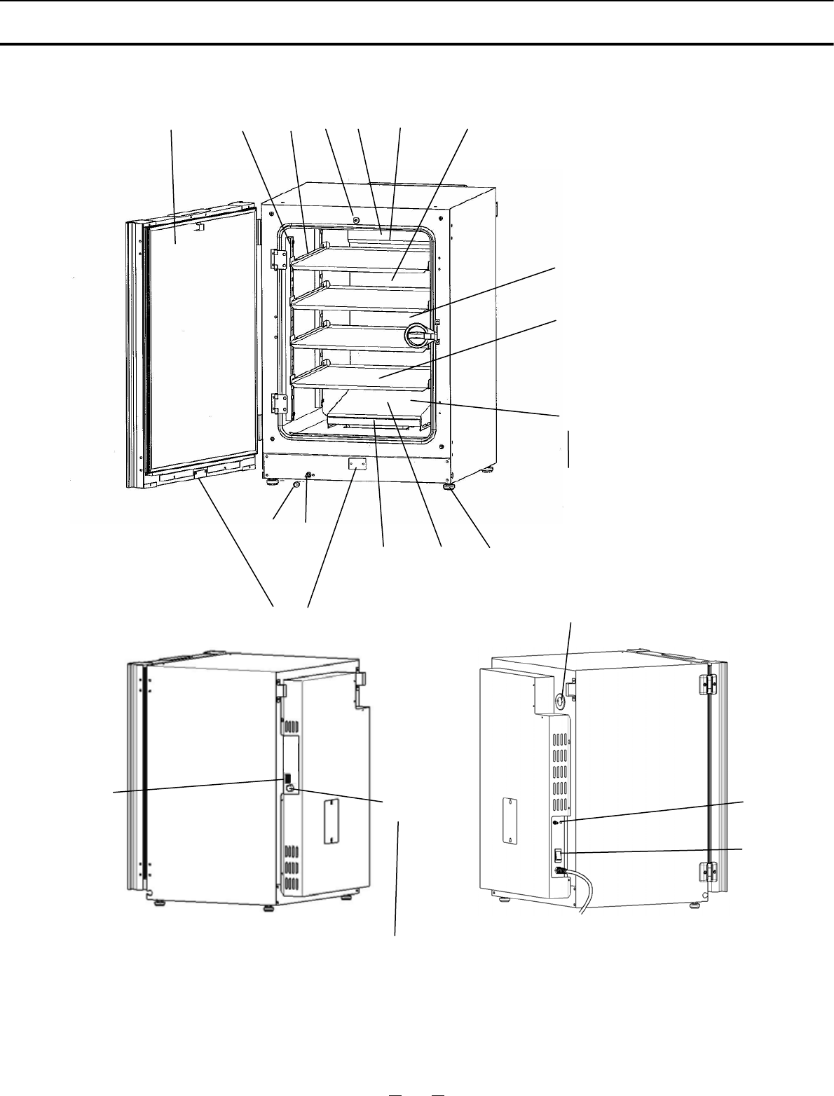 Sanyo MCO-19AIC, UV INCUBATOR COMPONENTS