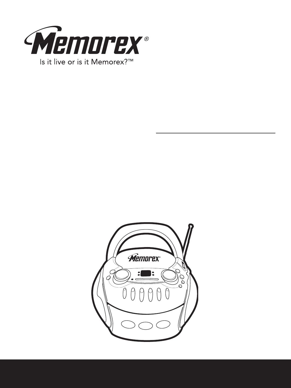 Memorex MP3227 manual