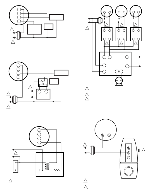 small resolution of t8700b1007 heat only wiring diagram for controlling 2 wire hot water zone valves