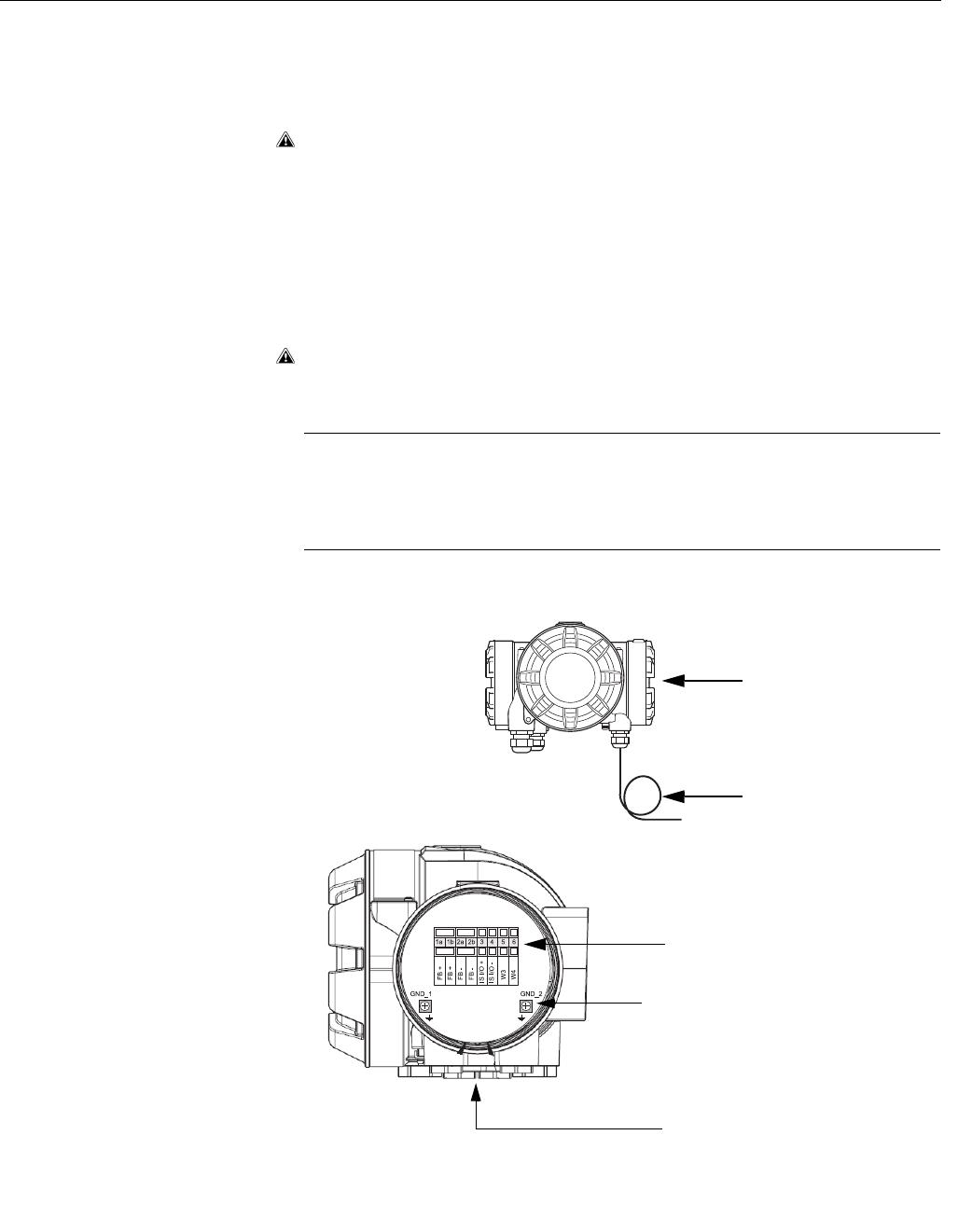 Emerson Process Management Rosemount 2410 3.4.12 IS Connection