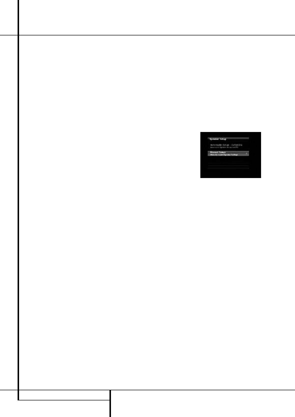 Harman-Kardon AVR 255, AVR 355 Manual Setup, Step One