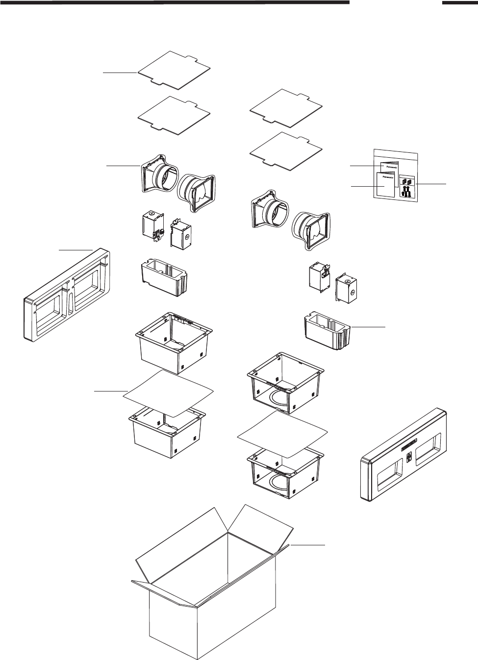 Panasonic FV-07VB1 Packing Section(FV-07VBA1)