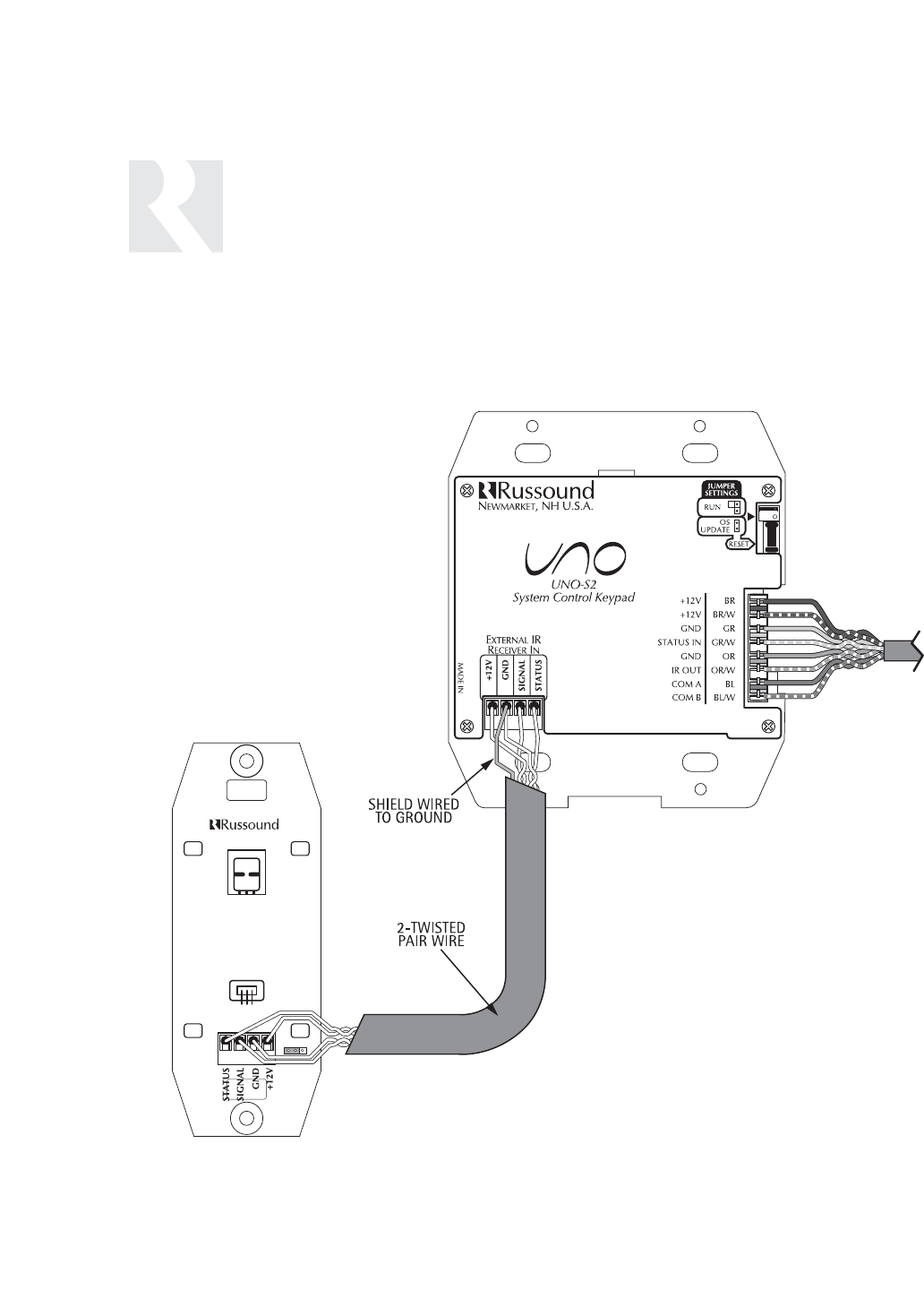 Speakercraft Ir Receiver Wiring Diagram : 39 Wiring