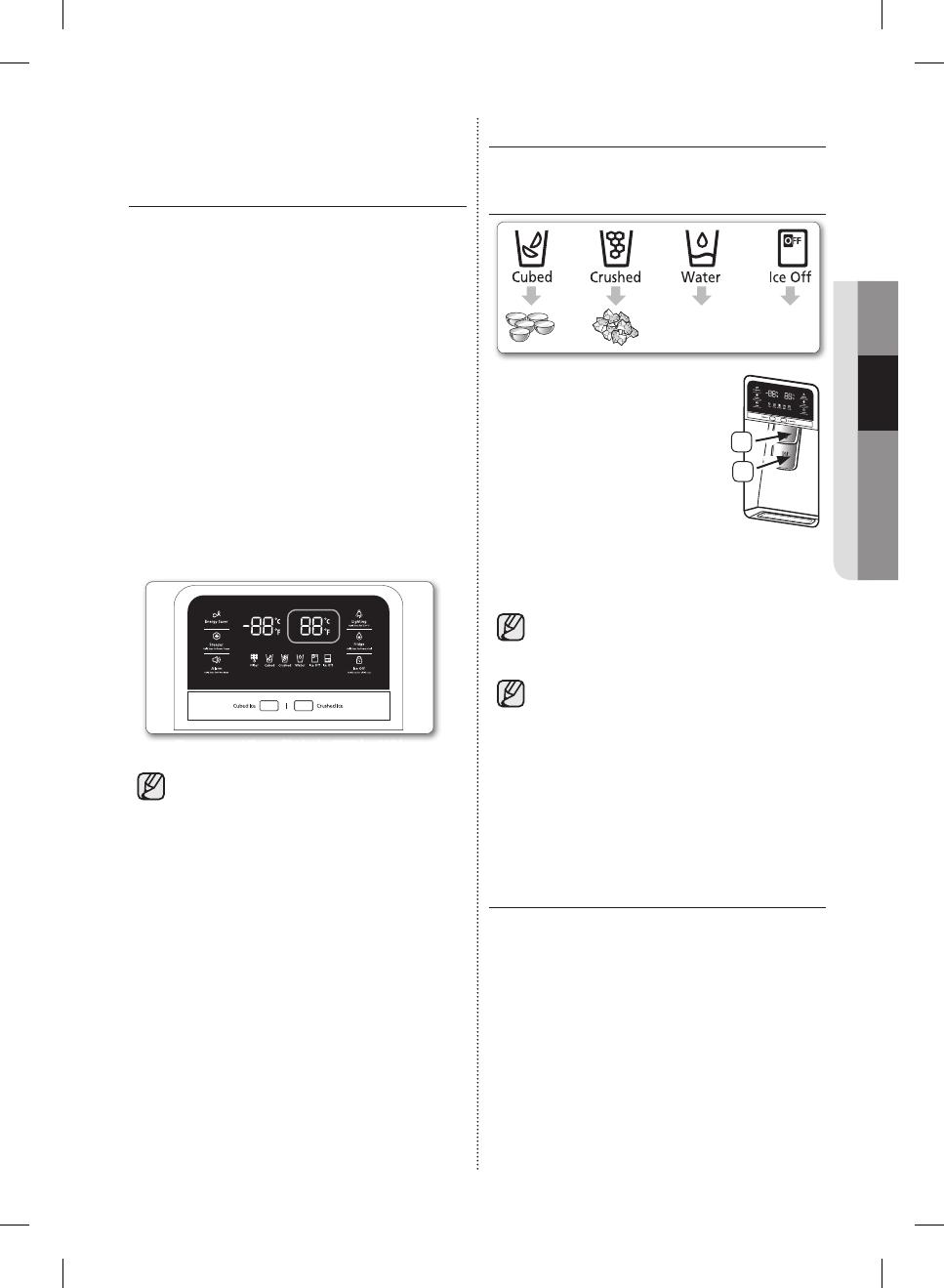 Samsung RF323TEDBBC, RF323TEDBSR, RF323TEDBWW USING THE