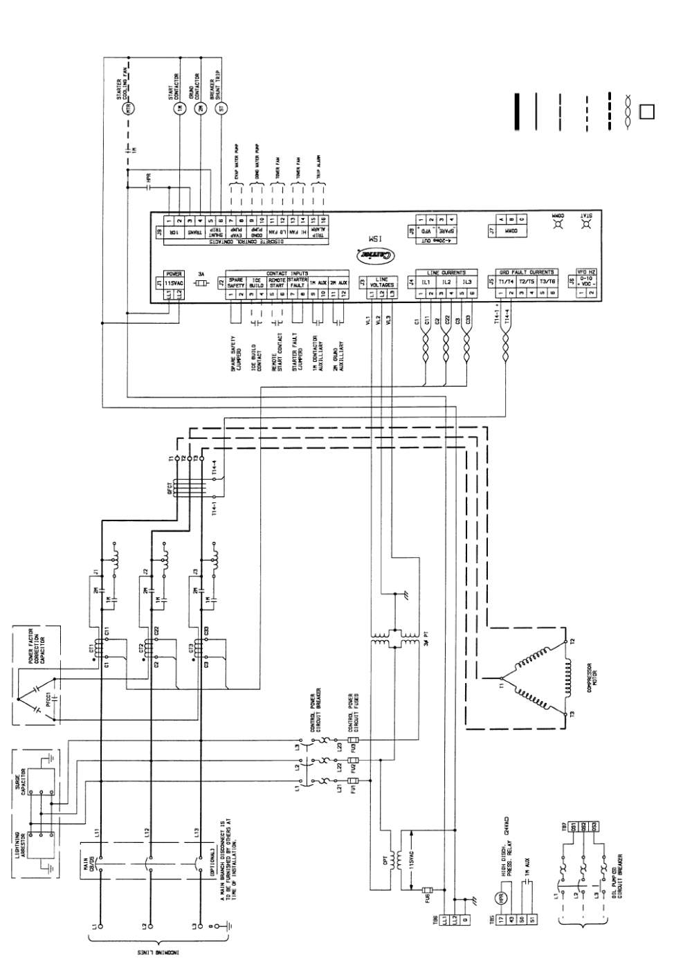 medium resolution of carrier 19xr xrv fig 55 typical primary reactor starter wiring schematic medium voltage