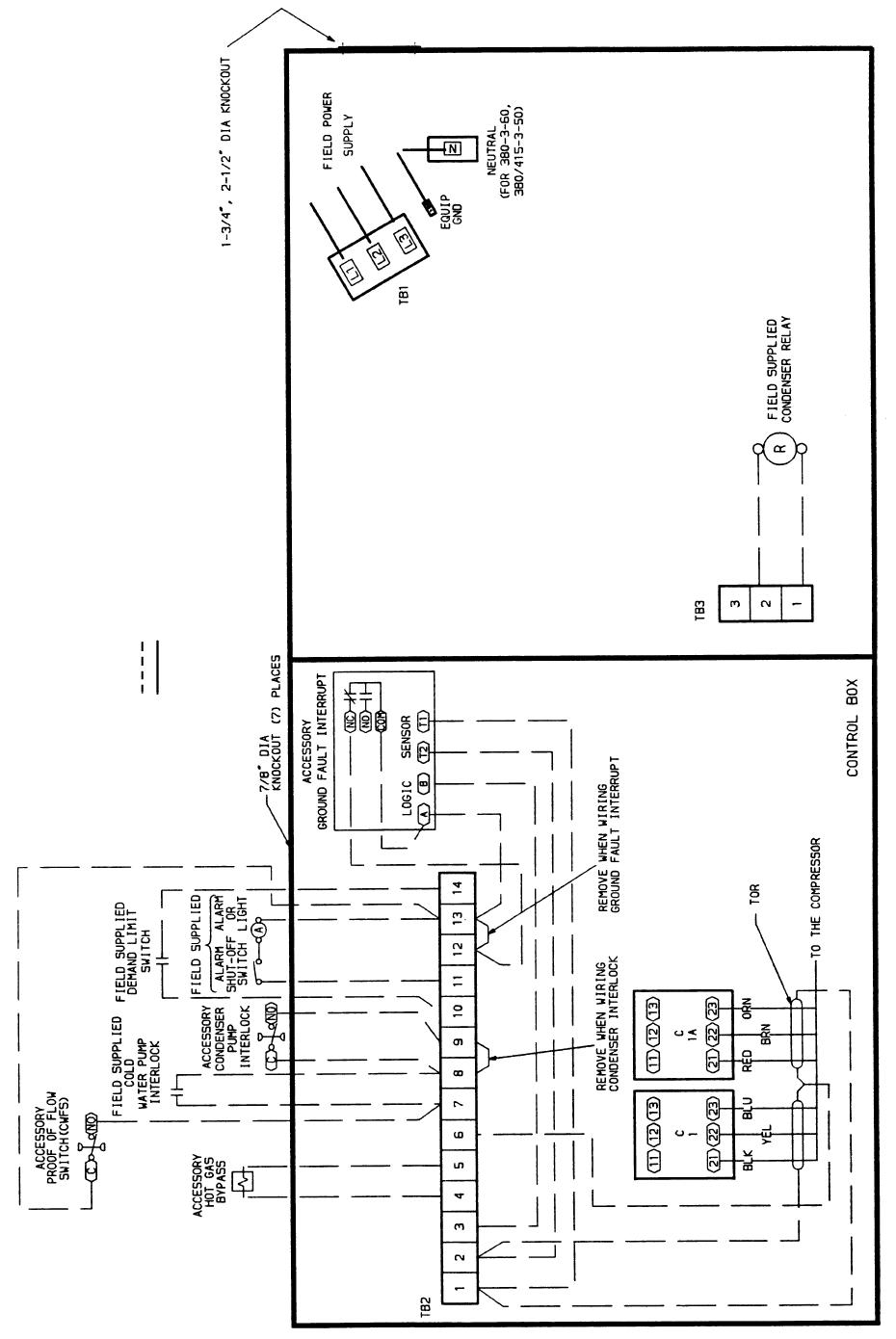 Carrier 060, 30HK040-060, 30HL050, 30HW018-040 Fig. 18