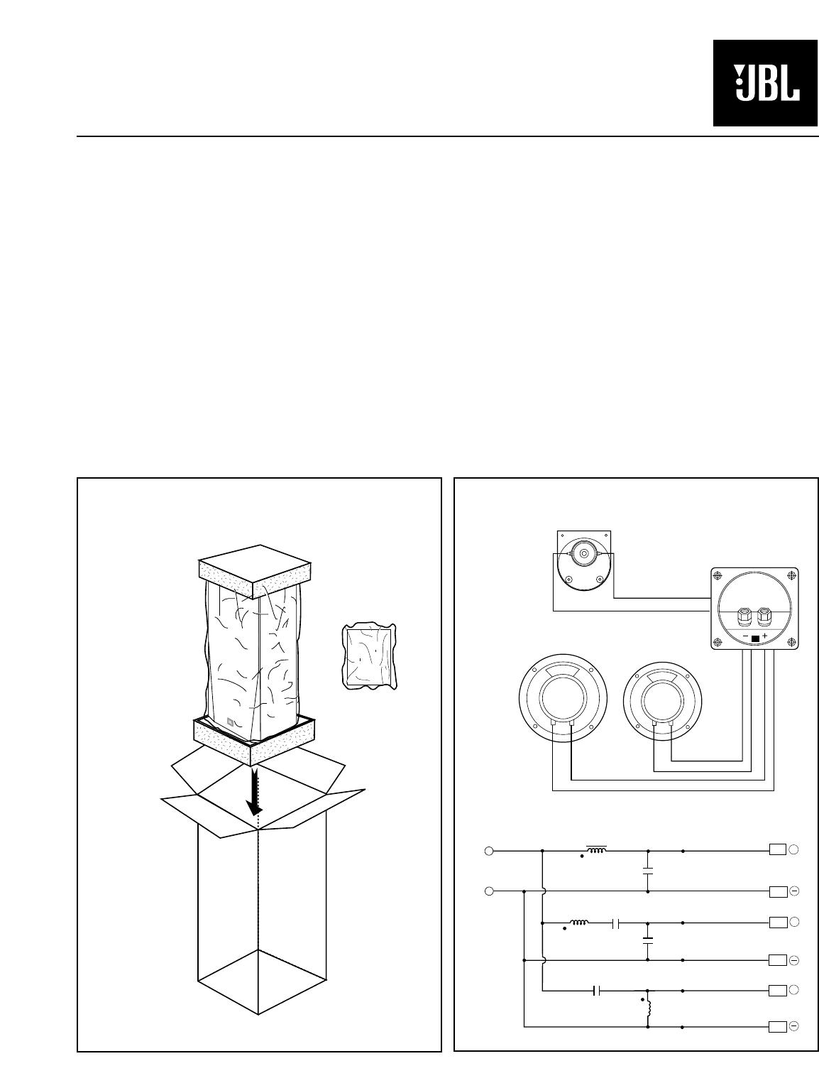 JBL TLX151 technical manual