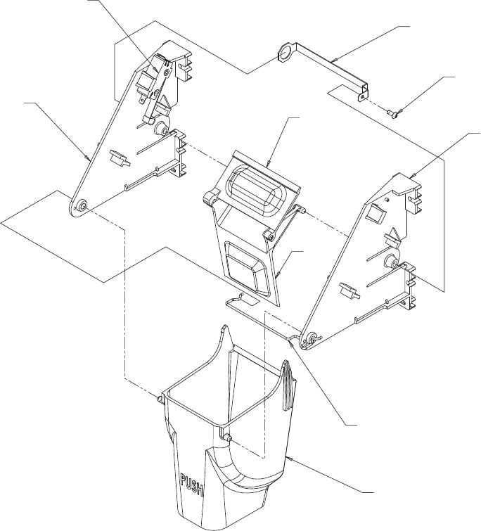 Cornelius CHD22, CHD30 Ice Chute Mechanism