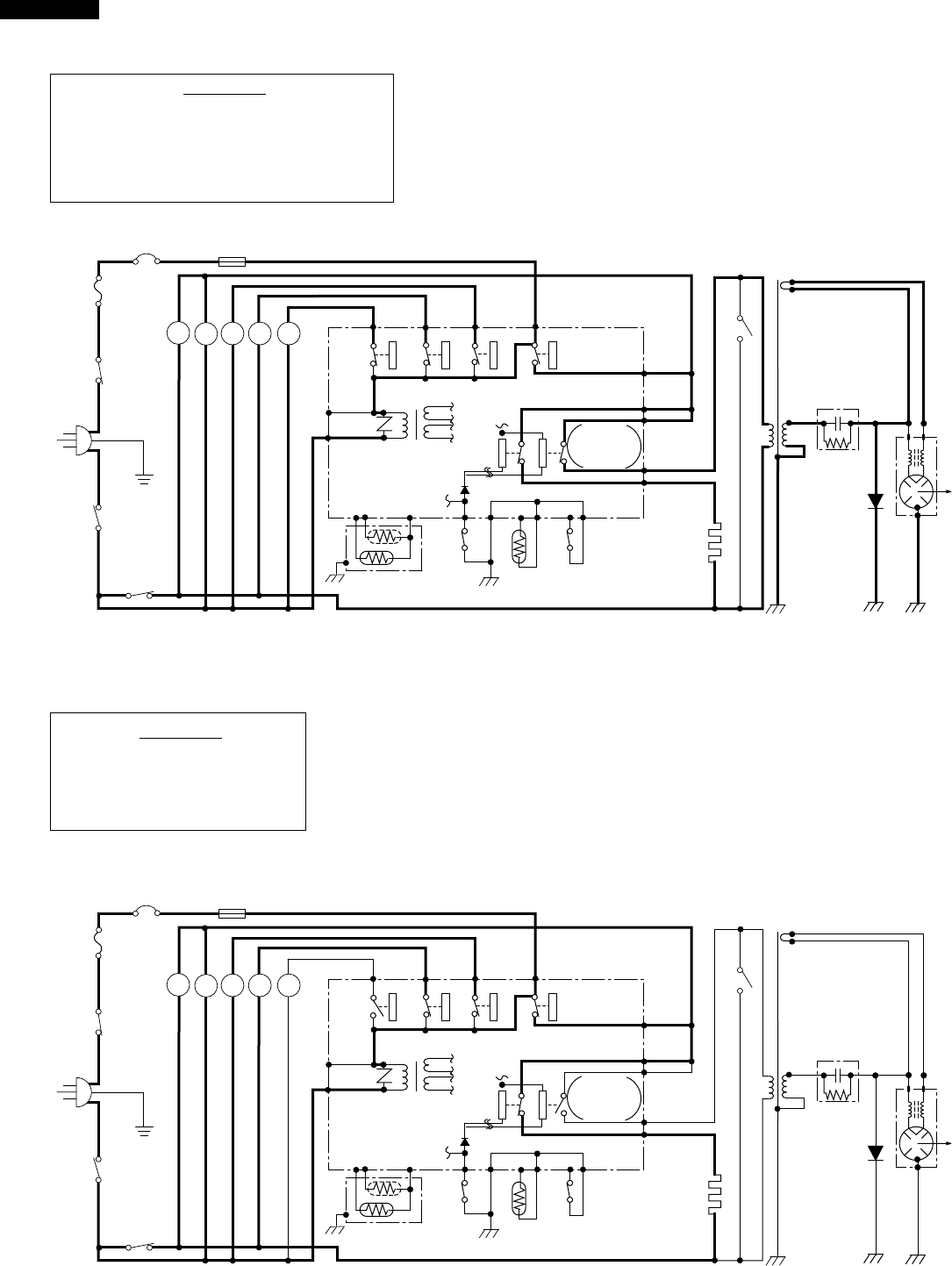 Sharp R-930AW Figure O-4. Oven Schematic-Convection