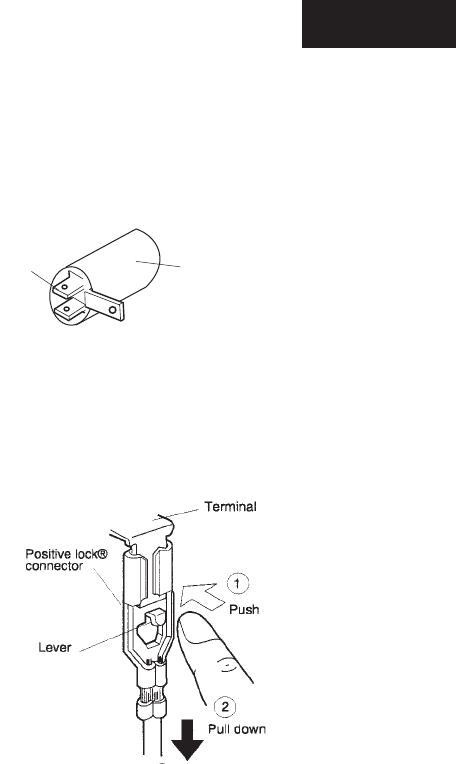 Sharp R-520LK, R-520LW POSITIVE LOCK CONNECTOR (NO-CASE