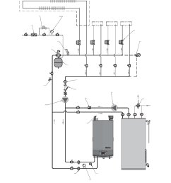 lochinvar wh 55 399 figure 6 10 single boiler full flow single temperature zoned with zone valves dhw priority notice [ 1026 x 1488 Pixel ]