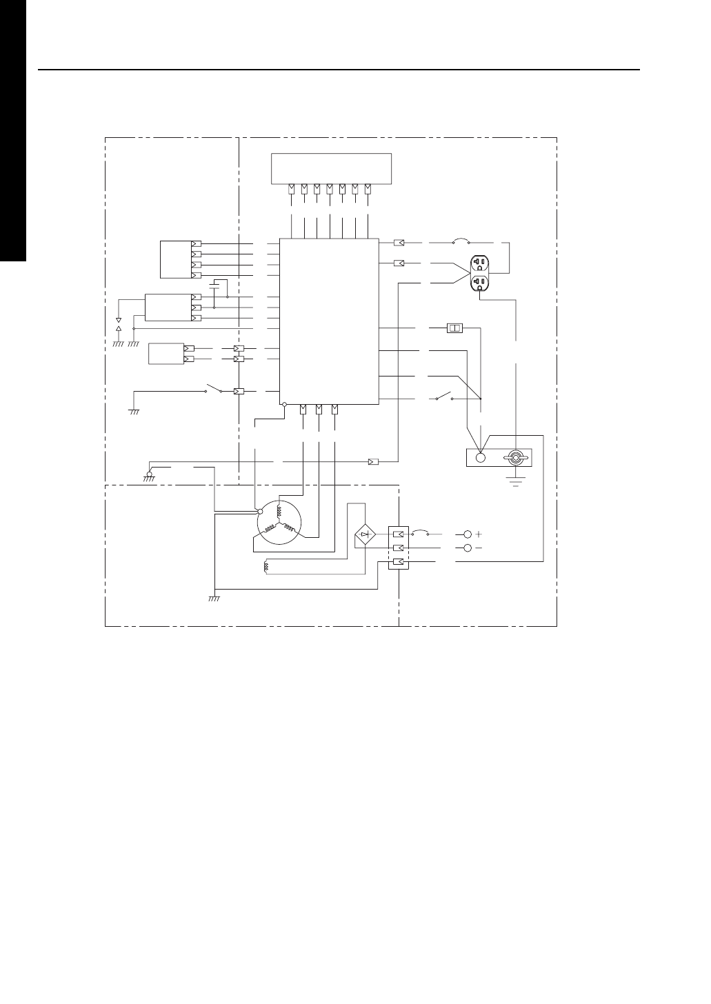Makita G1700i 15.WIRING DIAGRAM