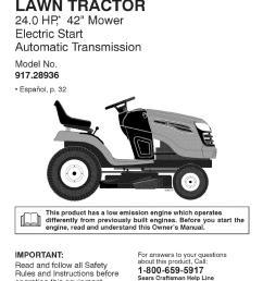 craftsman 917 28936 917 289360 yt 4000 owner manual craftsman dyt 4000 transmission diagram [ 792 x 1224 Pixel ]