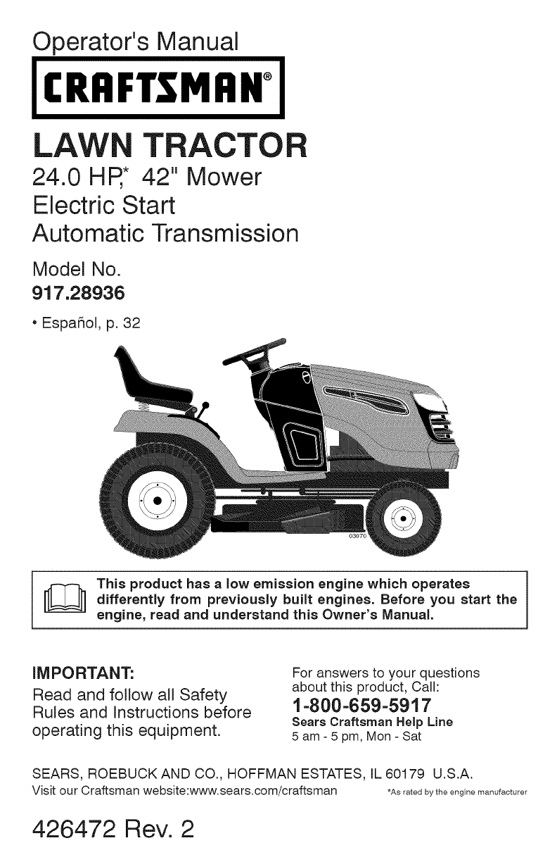 medium resolution of craftsman 917 28936 917 289360 yt 4000 owner manual craftsman dyt 4000 transmission diagram
