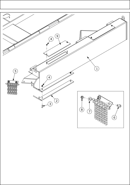 Servis-Rhino 14812, SE10-4A, SE15-4A WEIGHT BOX ATTACHMENT