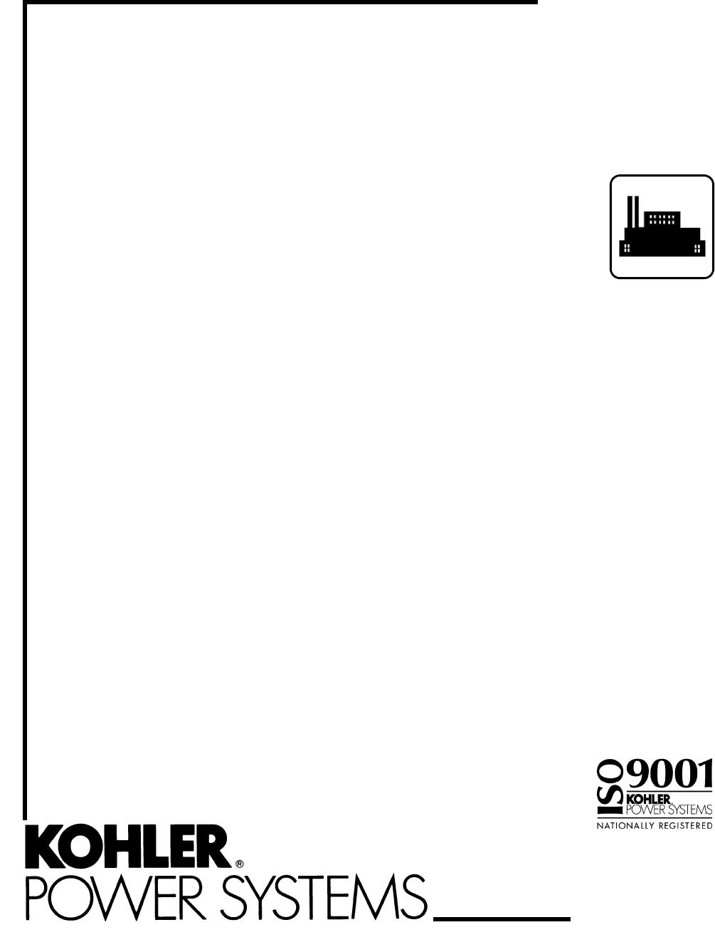 Kohler 20-3250 kW manual