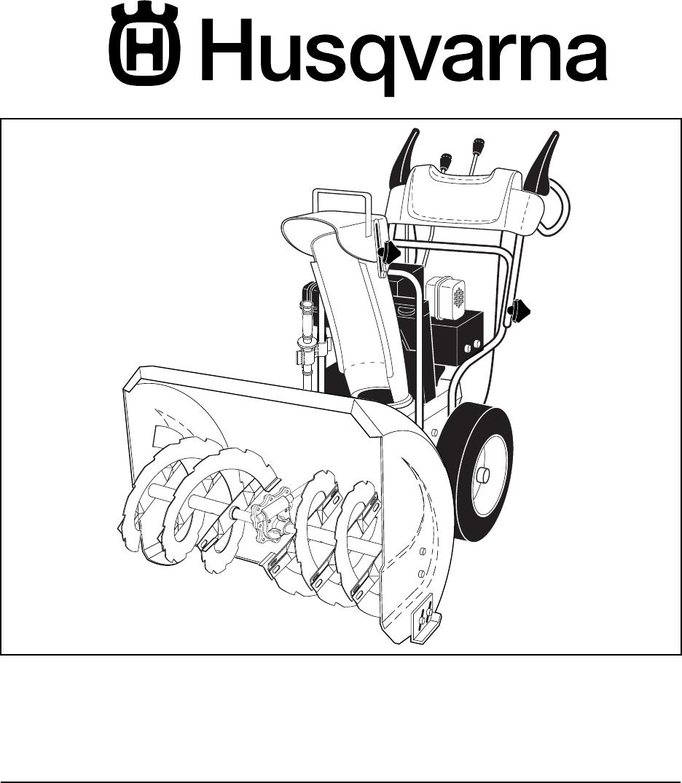 Husqvarna 5524SE owner manual