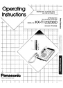 Panasonic Communications manuals