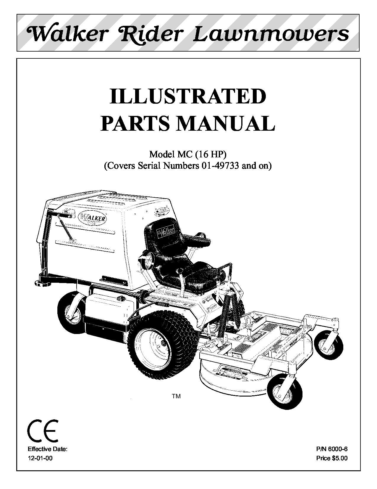 Walker manuals