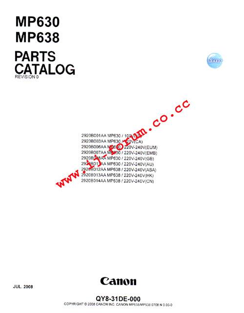 Canon pixma mp540 manual pdf