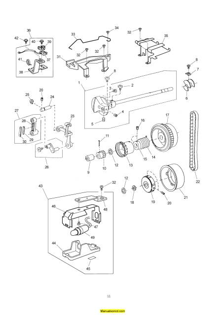 Janome 10000 Memory Craft Sewing Machine Service-Parts Manual