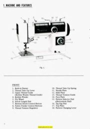 Dressmaker Instruction Manuals