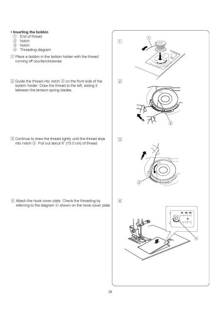 Janome New Home 49018 Sewing Machine Instruction Manual