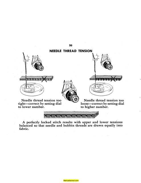 Singer 329K Style-Mate Sewing Machine Instruction Manual