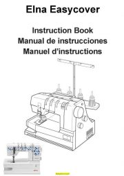 Elna Instruction Manuals