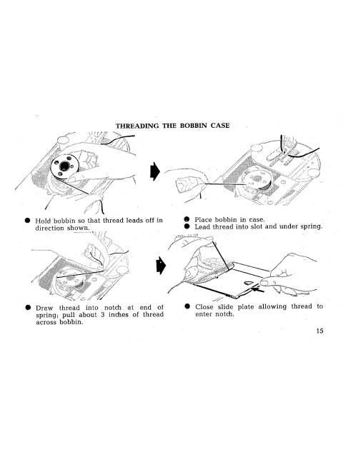 Singer 414 Sewing Machine Instruction Manual