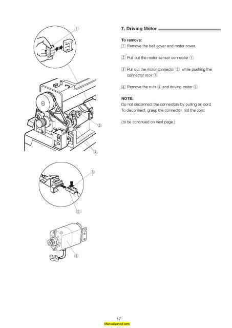 Janome HD9 Professional Sewing Machine Service-Parts Manual