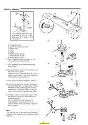 Janome HD9 Sewing Machine Instruction Manual