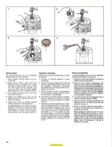 Singer 1411 Sewing Machine Instruction Manual
