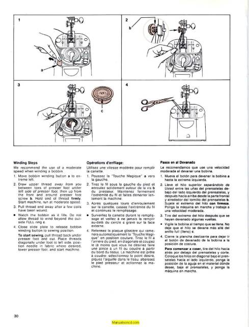 Singer 1411 Sewing Machine Instruction Manual
