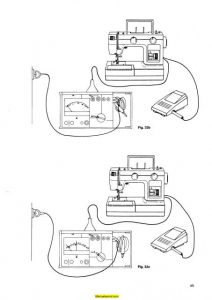 Pfaff 521-340 Sewing Machine Service-Parts Manual