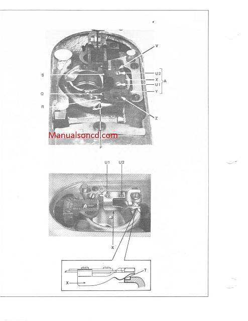 Singer 252-257-258-259 Sewing Machine Service Manual