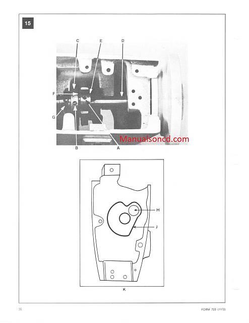 Singer 252-257-258-259 Sewing Machine Service Manual