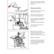 Elna 654 Serger Sewing Machine Instruction Manual