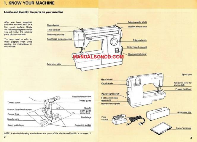 Kenmore 158.10101 Sewing Machine Instruction Manual