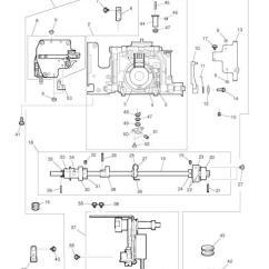 Elna Sewing Machine Parts Diagram E46 325i Radio Wiring Lotus Service Manual Includes List