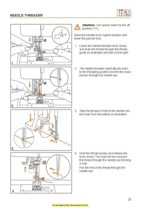 Viking Huskystar c10-c20 Sewing Machine Instruction Manual