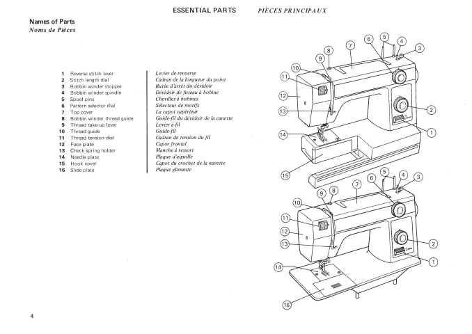 Janome 346-347 Sewing Machine Instruction Manual