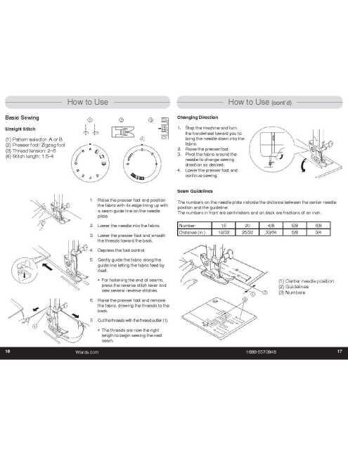 Montgomery Ward JW12 Sewing Machine Instruction Manual