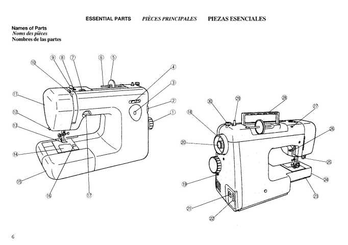 Janome ME 4018 Sewing Machine Instruction Manual