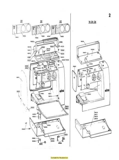Elna Sewing Machine Service Manual