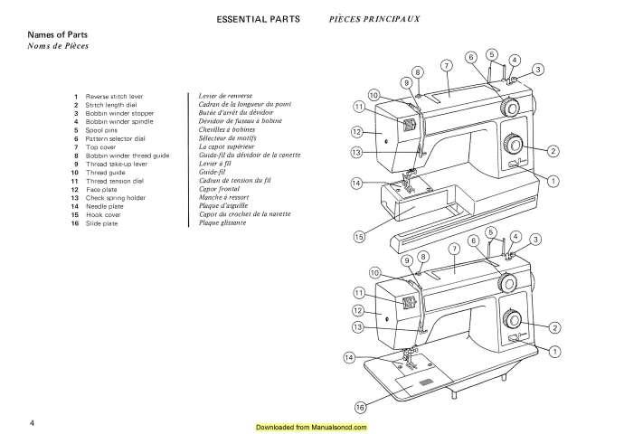Janome 318-319 Sewing Machine Instruction Manual